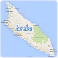 Map of Netherlands Antilles  Willemstad Curaao Bonaire Sint