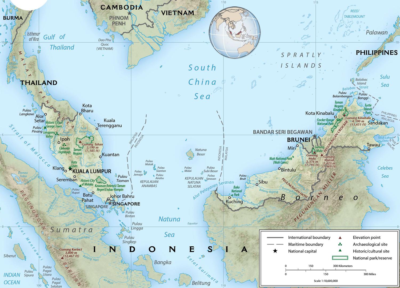 Malaysia Map Kuala Lumpur - Malaysia map