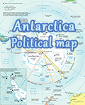 Map Antarctica - Antarctica political map