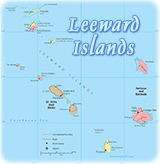 Map Source U S Central Intelligence Agency Caribbean Map