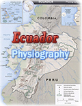 Physiography Ecuador