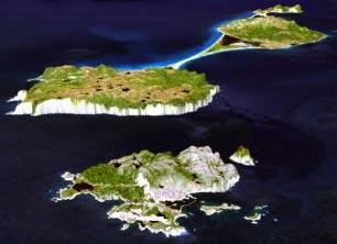 Map Of Saint Pierre Miquelon - Saint pierre and miquelon map
