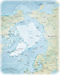 Map Arctic