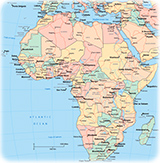 Africa Maps - African Countries