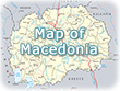 Map Macedonia
