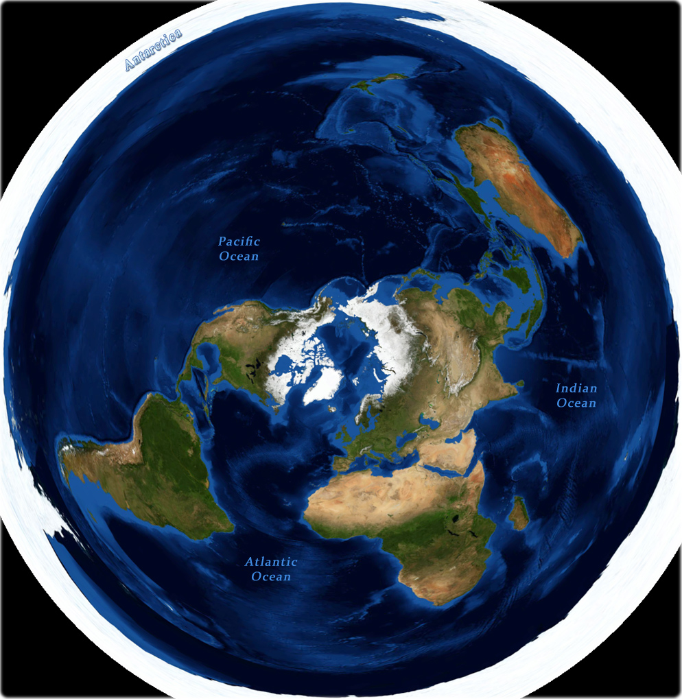Azimuthal projection