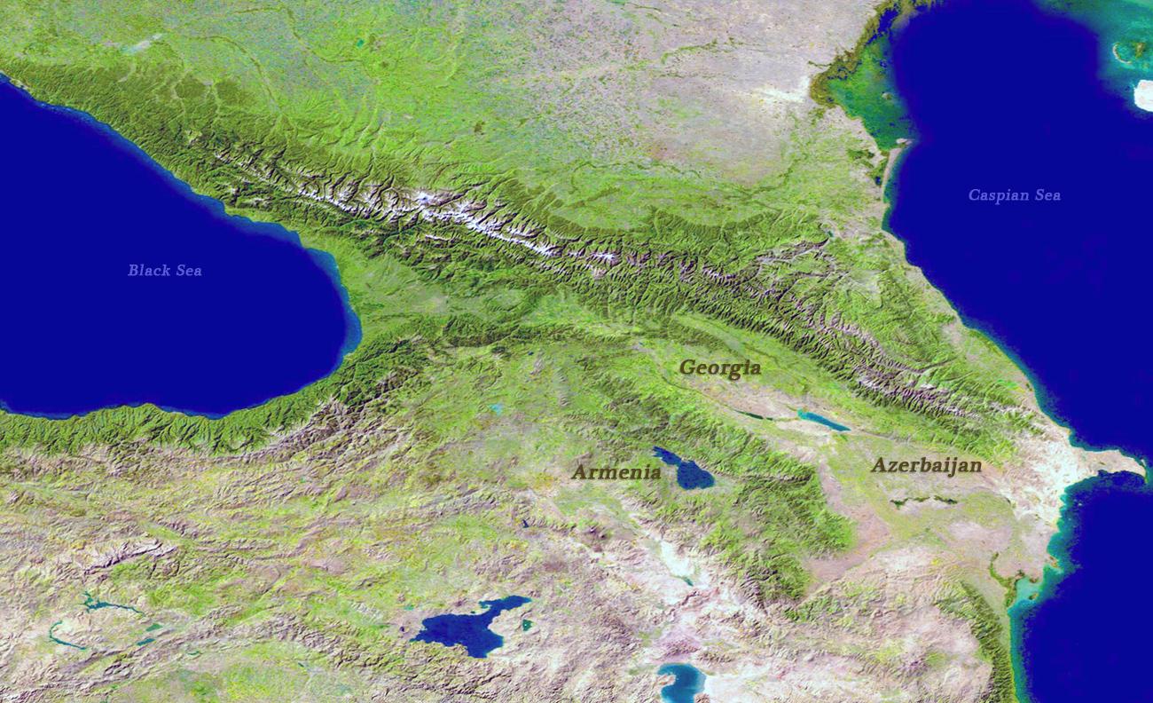 Image of: Caucasus Mountains Asia